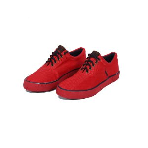 TÊNIS POLO RALPH LAUREN CANVAS RED - USADO