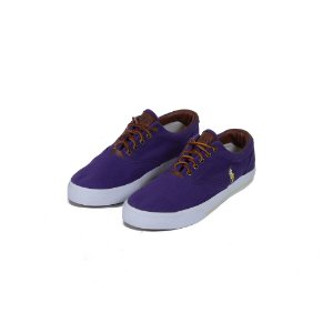 TÊNIS POLO RALPH LAUREN CANVAS PURPLE - USADO