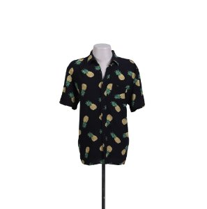 CAMISA ESTAMPADA ABACAXI BAW CLOTHING - USADO