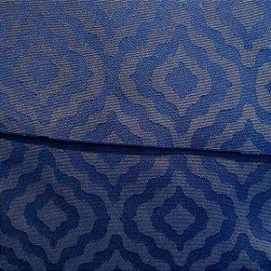 Jacquard Geométrico Azul 2,80mt de Largura
