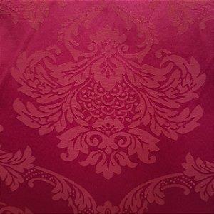 Jacquard Estampado Medalhão Pink/Fucsia 2,80mt de Largura