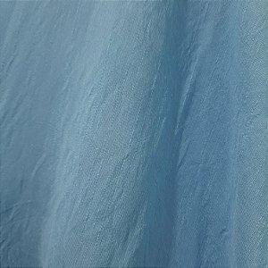 Rayon Tencel Slub Azul Bebê 1,47mt de Largura