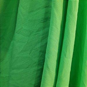 Rayon Tencel Slub Verde Lima 1,47mt de Largura