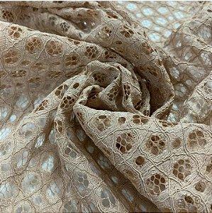 Renda Rope Lace cor Bege 1,50mt de Largura