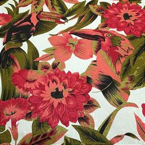 Jacquard Estampado Floral 1,40mt de Largura
