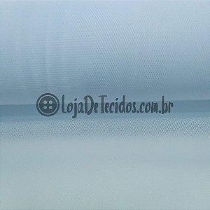Tule Liso Azul Claro 2,40m de Largura