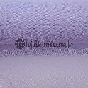 Tule Liso Lilás 2,40m de Largura