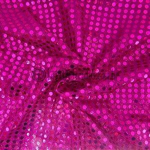 Paetê Pink 1,12m de Largura