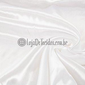 Cetim Liso Branco 1,47m de Largura