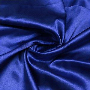 Cetim Liso Azul Royal 1,47m de Largura