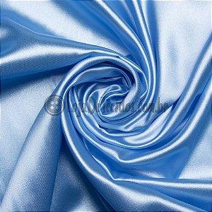 Cetim Liso Azul Bebê 1,47m de Largura