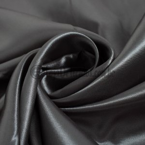 Cetim Liso Cinza Escuro 1,47m de Largura