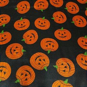 Cetim Estampado Halloween 1,50mt de Largura