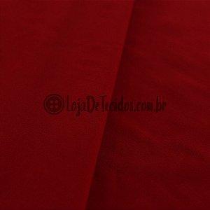 Viscose com Elastano Liso Vermelho 1,42m de Largura