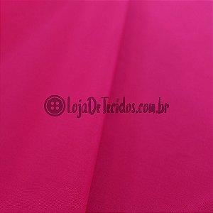 Viscose com Elastano Liso Pink 1,42m de Largura