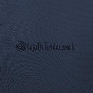 Voil Transparente Azul Marinho 3mt de Largura
