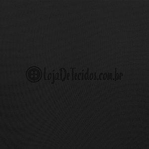 Voil Transparente Preto 3mt de Largura