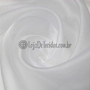 Organza Cristal Branco 1,50m de Largura