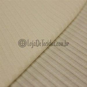 Malha de Viscose Canelada Off-White 1,30mt de Largura