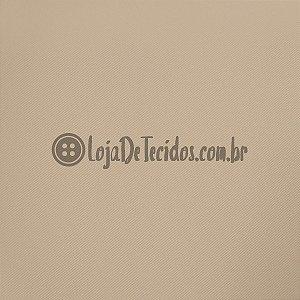 Montaria Twill Liso Bege 1,50m de Largura