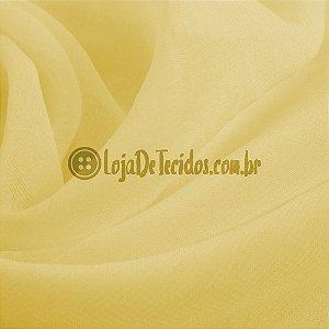 Musseline Liso Amarelo 1,40m de Largura