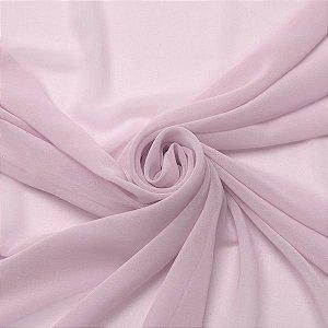 Musseline Liso rosa bebe 1,40m de Largura