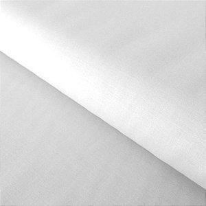 Percal 200 Fios Liso Branco 2,50m de Largura