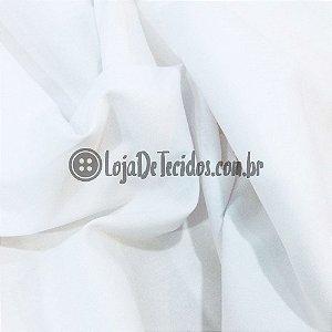 Percal 200 Fios Liso Branco - 2,50m de Largura