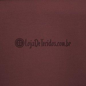 Bengaline Liso Vinho Escuro 1,50m de Largura