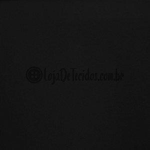 Bengaline Liso Preto 1,50m de Largura