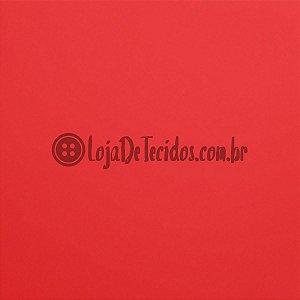 Liganete Micro Fluid Liso Vermelho 1,50m de Largura