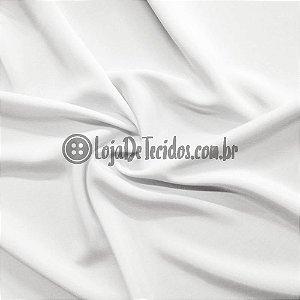 Oxford Fio Tinto Liso Branco 1,47m de Largura