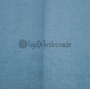 Linho Misto Azul Bebê 1,40mt de Largura