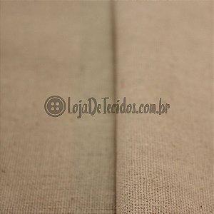 Linho com Viscose Bege/Cru 1,33m de Largura