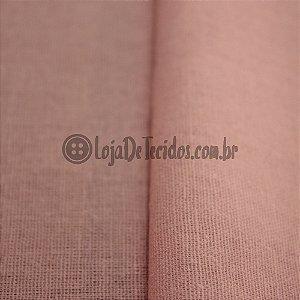 Linho Misto Rosé 1,40mt de Largura