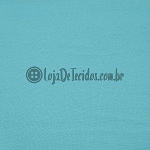 Atoalhado 100% Algodão Liso Azul Turquesa 1,40m de Largura