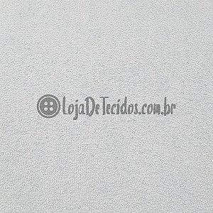 Atoalhado Liso Branco 1,40m de Largura