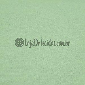 Atoalhado 100% Algodão Liso Verde Claro 1,40m de Largura