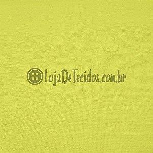Atoalhado 100% Algodão Liso Amarelo 1,40mt de Largura