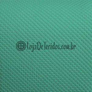 Malha Piquet Verde Água/Tifany 1,50mt de Largura