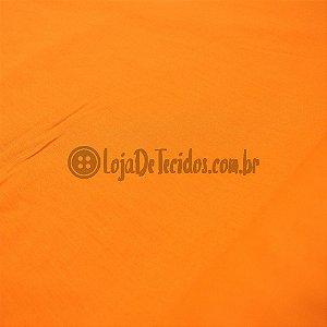 Tricoline Liso Laranja 1,50m de Largura