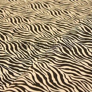 Tricoline Estampado Zebra 1,50mt de Largura