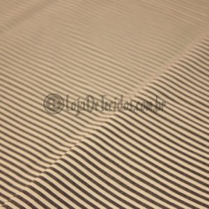 Tricoline Estampado Listrado Preto e Branco