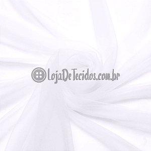 Tule Ilusion Liso Branco 1,50m de Largura
