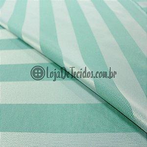 Jacquard Estampado Listrado Tiffany 2,80m de Largura