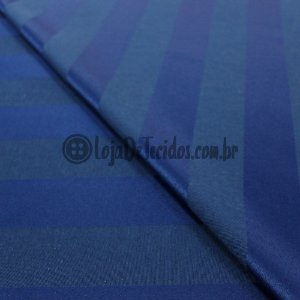 Jacquard Estampado Listrado Azul 2,80mt de Largura