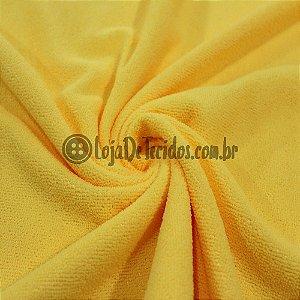 Atoalhado Microfibra Amarelo 1,50m de Largura