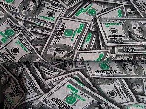 Tricoline Estampado Dollar