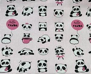 Tricoline Estampado Panda