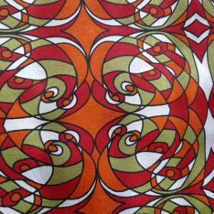 Jacquard Estampado Arte Romero Britto 1,40mt de Largura